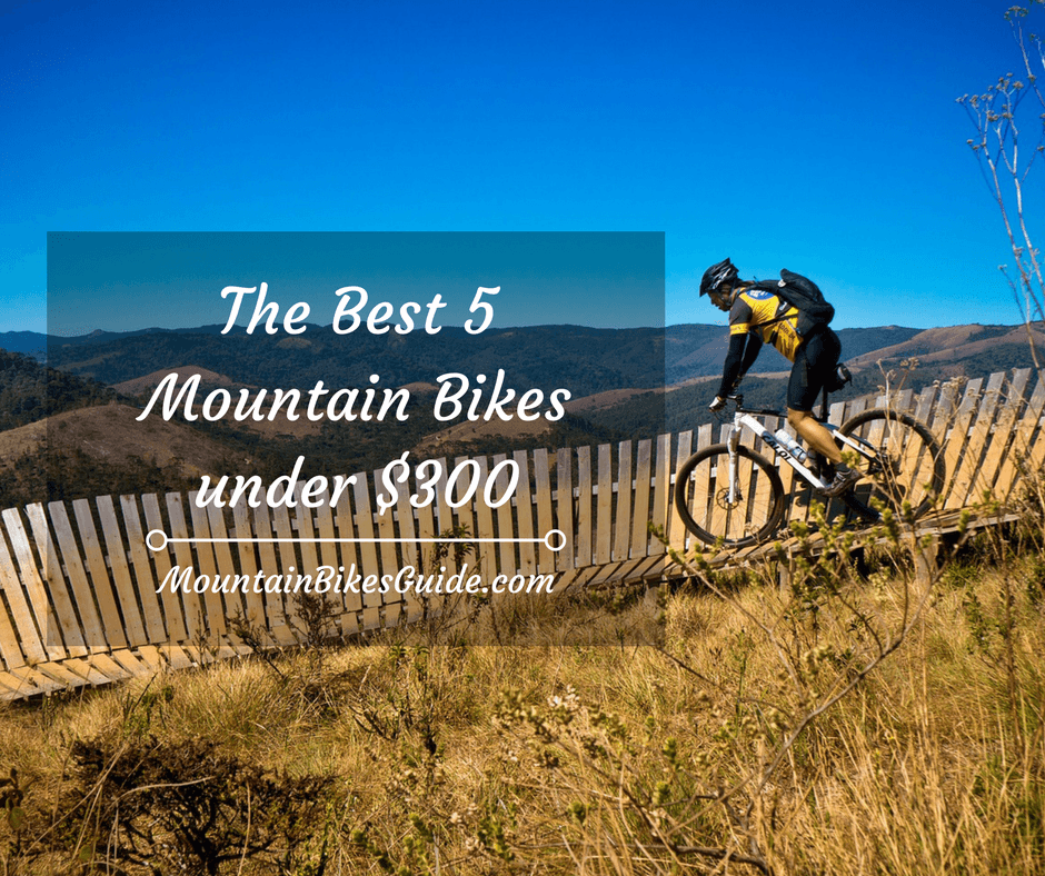 Best 5 mountain bikes under 300